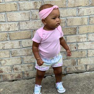 CHILDREN'S PLACE Tie Dye Shorts